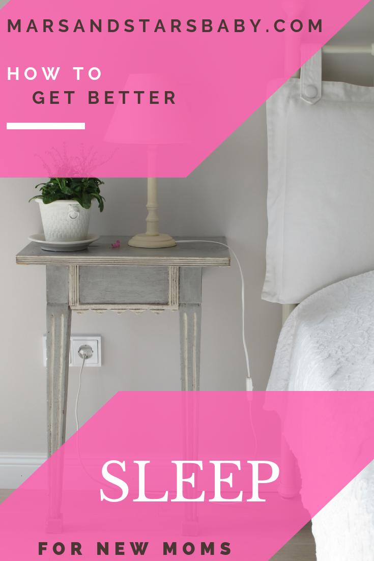 Better Sleep for new moms