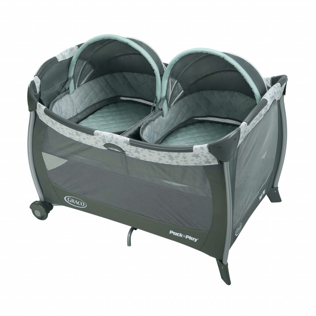 best bassinet for twins graco-1