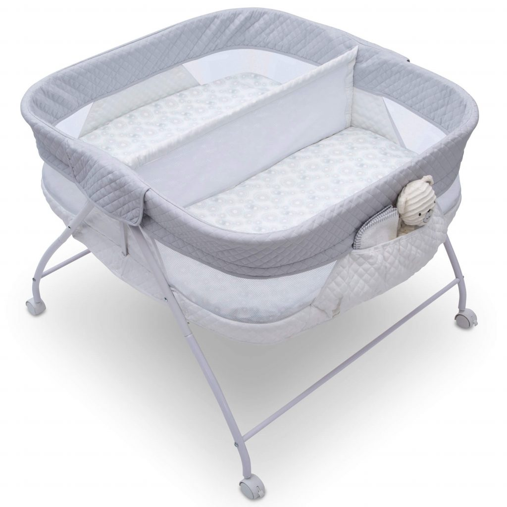 twin bassinet review EZ fold