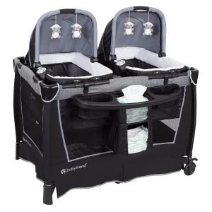 twin bassinet review baby-trend
